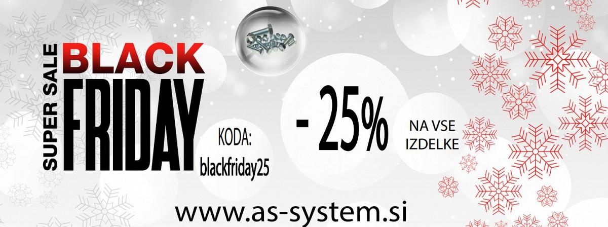 BLACK FRIDAY - 25%