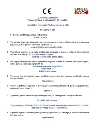 Vijak lesni iver - ravna glava (DOP 2 1-135)