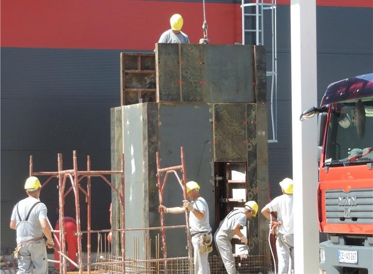 Gradnja proizvodnje Asfix